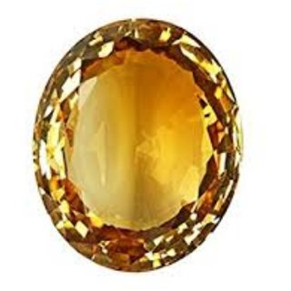 6.25 Ratti Super Quality Natural Yellow Topaz ,Substitute of Yellow Sapphire, Pukhraj