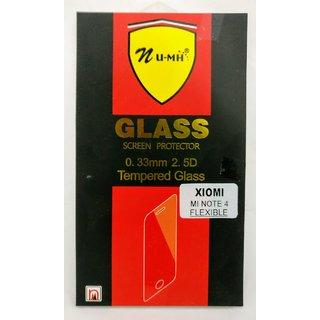 REDMI NOTE 4 TEMPERED GLASS