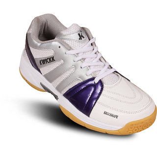 Kwickk Badminton Kids Shoe Olympia Blue