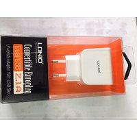 LDNIO DUAL USB HOME ADAPTER 2.1A ( UNIVERSAL) 2 USB PORT (WHITE)