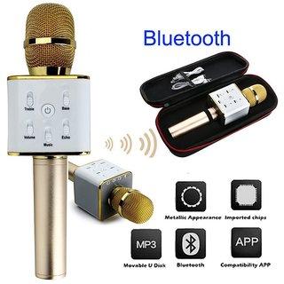 Bluetooth Karaoke Microphone Wireless Mic  MM Portable Handheld Singing Machine Condenser Microphones Mic
