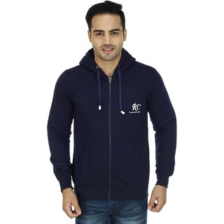Christy World Navy Hooded Sweatshirt