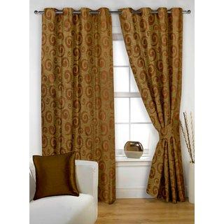 StoryHome Coffee Window Curtain Nature-WNR3019