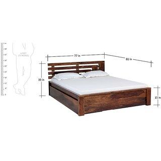 Corner Block King Size Storage Bed