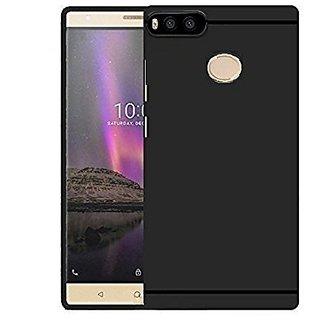 ECS Sleek Matte TPU Back Case Cover For XiaomiMi A1  - Black