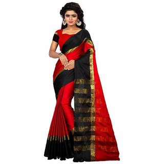 Sarees New Diwali Collection Latest Of 2017 By SVB Sarees Women's Art Silk Saree  (Saree Centre Sarees