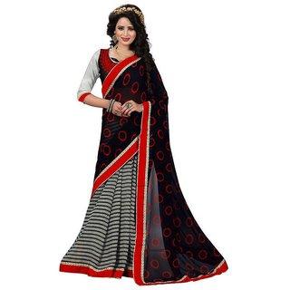 Sarees New Diwali Collection Latest Of 2017 By SVB Sarees Women's Art Silk Saree  (Saree Centre Sarees