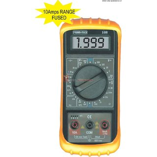 Digital MultiMeter KM 108 Make KUSAM MECO