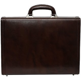 C Comfort Genuine Leather Briefcase Office Bag EL464