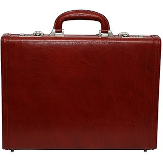 C Comfort Genuine Leather Briefcase Office Bag EL465