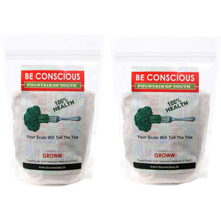 Beconscious Healthy and Nutritious Himalaya White Sea Salt 500 gms - Pack of 2