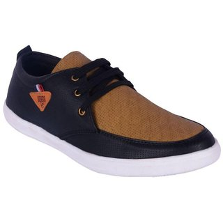 Dia A Dia Casual shoes for men Sneakers Black Casual Shoes