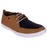 Dia A Dia Shoes For Men Sneakers Beige Casual Shoes