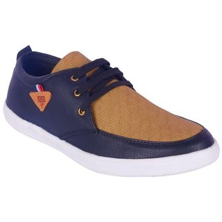 Dia A Dia Casual Shoes For Men Sneakers Blue Casual Shoes