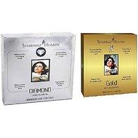 Shahnaz Husain Gold  Diamond Facial Kit (Mini), (40g+40g) combo