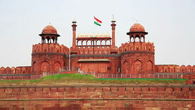 Red Fort (Laal Killa) Photo Frame - Front View