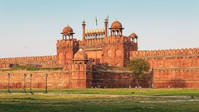 Red Fort (Lall Killa) Photo Frame - Side View