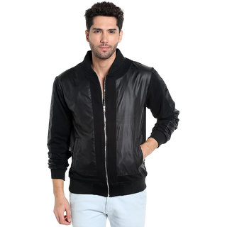Campus Sutra Men's Plain Jacket