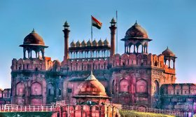 Red Fort (Lall Killa) Photo Frame - Paint Image