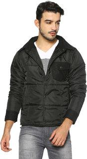 Campus Sutra Men's Plain Jacket