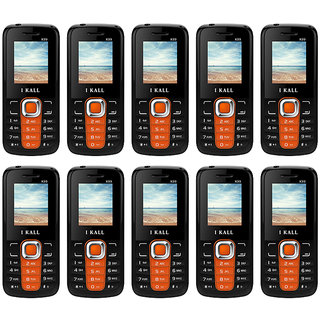 Combo Of 10 , K99 I Kall Dual Sim Multimedia Mobile Phone With FM Bluetooth