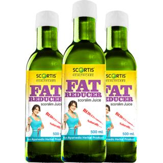 SCORTIS-FAT REDUCER JUICE500ML(COMBO OF THREE)