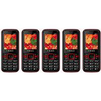 Combo Of 5 IKall K14 Multimedia Phone (No Earphones)