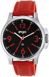 EGO BY MAXIMA SILVER Dial ANALOG Watch For MEN - E-01034PAGC