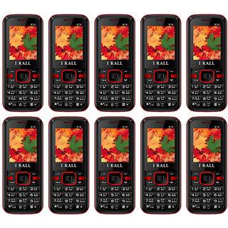 Combo of 10 IKall K14 (Dual Sim, 1.8 Inch Display, 800 Mah Battery, Made In India)