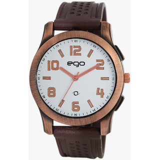 EGO BY MAXIMA ROSE Dial ANALOG Watch For MEN - E-40392PAGR