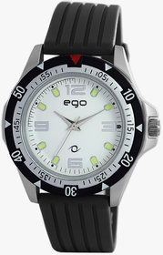 EGO BY MAXIMA SILVER Dial ANALOG Watch For MEN - E-4100