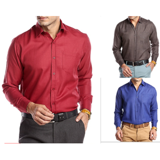 Pack of 3 Shirts By Mark Pollo London