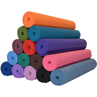 6 MM YOGA MAT - COMFORT SMOOTH - MAKES YOGA EXERCISE FEEL GOOD- FREE SHIPPING