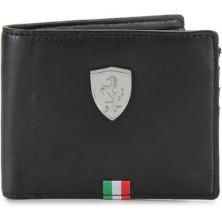 Puma Mens Flag Black Wallet