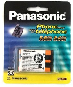 Genuine 100 Original Panasonic Hhr-p107 Cordless Phone Battery Hhrp107
