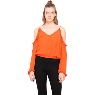 b34c0aa62e47c Buy Akaayu Women Cold Shoulder Top Online   ₹1099 from ShopClues