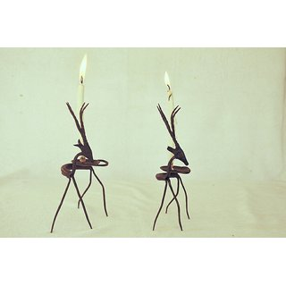 Deer Candle Stand(2 Piece)