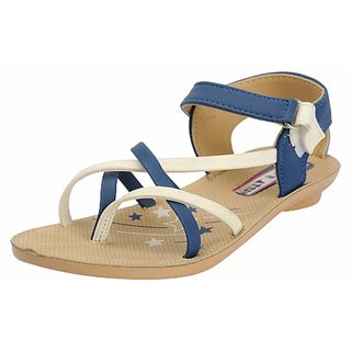 Belly Ballot Womens Blue Floaters