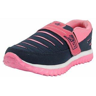 Belly Ballot Womens Blue Sport Shoes