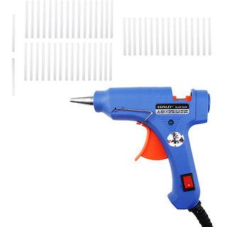 Geetanjali Decor (XUNLEI) 20w Mini Hot Melt Glue Gun With (15) Glue Sticks
