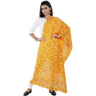 Pagazo Women's Multicolor Bhagalpuri Silk Duppatta
