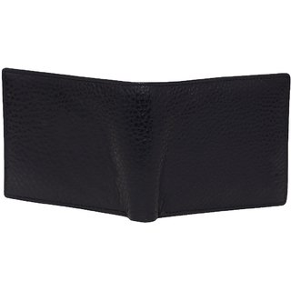 Macberry Artificial Leather Wallet for Men (Black)