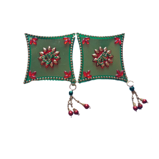 Green Kite Style Shubh Labh Door Hanging