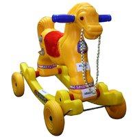 Abasr Baby Kids Ramya Avstha Multicolour Ride On Horse Fancy