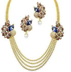 MJ Structural Necklace Set For Women