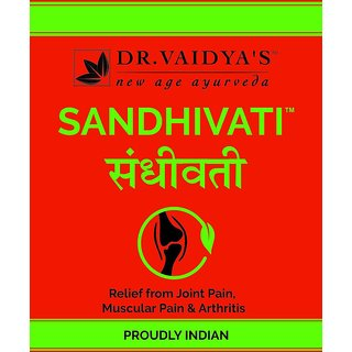 Dr. Vaidya's - Sandhivati - Relief from Arthritis and Joint Pain, 24 pills in a packet (Pack of 4)