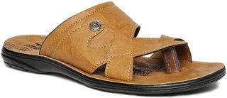 Paragon Men'S Mustard Sandals