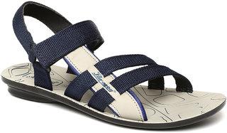 Paragon Men'S Blue Casual Slipper