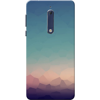 brand new 8de0b c3b08 Nokia 5 Case, Crystal Scene Slim Fit Hard Case Cover/Back Cover for Nokia 5