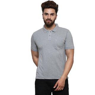 Jodifer Men's Half Sleeve Casual Solid T-shirt